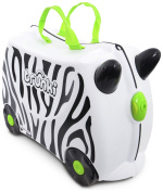 Trunki Zimba Zebra Children's Luggage - Ride on suitcase