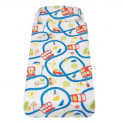 Wheels On The Bus Cot-bed/pillow Set By The Gro Company Gro-to-bed - 100% Cotton