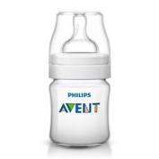 125ml Avent Classic+ Feeding Bottle - Classic Philips Baby 125ml4oz Scf56017
