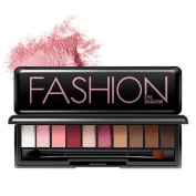 Eyeshadow,Rosiest 10 Colours Cosmetic Powder Smoky Eyeshadow Palette Makeup Set Matt Available