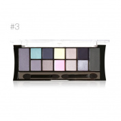 Eyeshadow,Rosiest 12 Colours Cosmetic Powder Smoky Eyeshadow Palette Makeup Set Matt Available