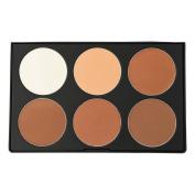 u KARA Beauty Professional Makeup Palette PC13 - 6 colour Powder Contour