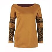 Women Blouse ,IEason 2017 Womens Long Sleeve Shirt Casual Blouse Loose Cotton Tops Lady T Shirt