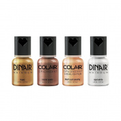 Dinair Airbrush Makeup Highlighter, Eyeshadow - Inner Goddess Collection Set