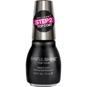SinfulColors SinfulShine Step 2 Top Coat Nail Colour, 15ml