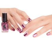 Mirror Nail Polish,Promisen Art Nail Plating Silver Paste Metal Colour Finger Fashion