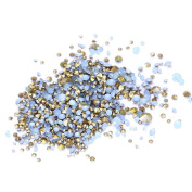 Nizi Jewellery ss6-ss38 And Mixed Sizes Pointback Resin Rhinestones Beads For Phone Nail Art DIY Decoration Many Sizes Blue Opal ss20 4.7mm