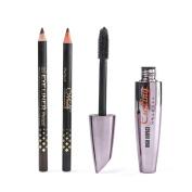 Aurorax Women New False Eyelashes Makeup Mascara Waterproof Makeup Cosmetics