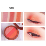 Eyeshadow Palette , Hunzed 3 Colours Highlighter Powder Smoked Eyeshadow Palette Beauty Cosmetic Eye Shadow Makeup