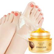 Coerni Milk & Honey Moisturising Peel Off Foot Wax Mask Cream Exfoliate Dead Skin/ Hydrating/ Nourish/ Whitening