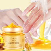 Coerni Milk & Honey Moisturising Peel Off Hand Wax Mask Cream Exfoliate Hydrating Nourish Whitening Hand 120g