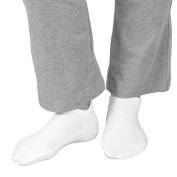 Unisex-Adult Foot Moisturising Dermal Booties - Retain Cream And Lotion Without The Mess