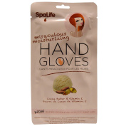 My Spa Life, Miraculous Moisturising Hand Gloves, Cocoa Butter & Vitamin E, 1 Pair of Glove-Style Hand Masks