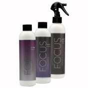 Black Fascination FX Spray Tanning Kit with Tanning Solution Pack & Bronze Tan Tent