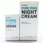 [SKINMISO-KOREA] SET - Pore Zero Night Cream 80g + Pore Corset Serum 30ml