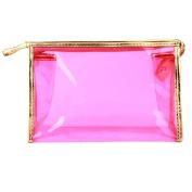 Nibito Women Waterproof Cosmetic Bag Zipper Handbag Storage Bag