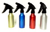 4 Aluminium Spray Bottles Atomizer Mist Perfume Hair Care Salon Home Garden