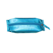 Drawihi Pencil case Fashion Stationery Pen Holder Cosmetic Makeup Bag Blue