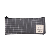 Drawihi Pencil Case Pouch Purse Cosmetic Makeup Bag Storage Bag Stripe Zipper