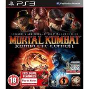Mortal Kombat Komplete (complete) Edition Game Ps3 -
