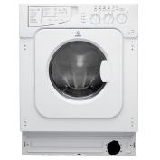 Indesit Ecotime Iwde 126 1200 Spin 6kg+5kg 13 Programmes Integrated Washer Dryer