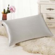 DDLBiz Fashion Solid Colour Rectangle Cushion Cover Silk Throw Pillow Case Pillowcase