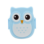 Sinfu Owl Lunch Box Food Container Storage Box Portable Bento Box