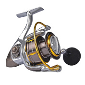 KastKing Kodiak Saltwater Spinning Reel - 18kg Carbon Fibre Drag, All Aluminium, 10 + 1 Stainless Steel Shielded Bearings, Enhanced Stainless Steel Main Shaft
