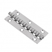 Jili Online Universal High Polished Stainless Steel Marine Boat Door Piano Hinge Deck Hatch Cover Cabin Cabinet Hardware 8cm x 3cm