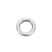 1PCS Stainless Steel Polished Round Enhancer Shortener Ring Spring Clasp for Jewellery Making 14.5mm