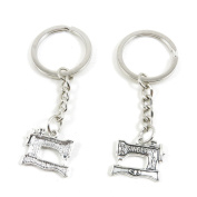 50 x Keychain Keyring Key Ring Chain Jewellery Findings W4IF4 Sewing Machine