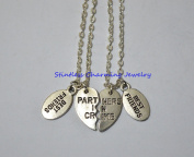 Partners in Crime Necklaces, Best Friends Necklaces, 2 Necklaces, Partners in Crime Necklaces, Best Friends Jewellery, Sister Necklace Set