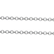925 Sterling Silver Bulk Chain Cable Chain Unfinished Chains For Jewellery Making 0.9m Per Lot