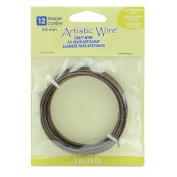 Artistic Wire 12 Gauge, Antique Copper Colour, 3m Wire