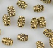 Gold Tibetan Column Spacer Loose Beads Crafts Finding Jewellery Making DIY