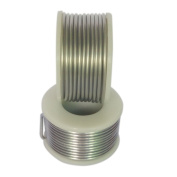 GazeKu Aluminium Wire Coated with PVC for Stamping Tags hanging Diameter 1.2mm Length 2X4 metres