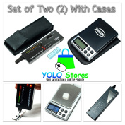 Diamond Selector II Tester & Digital Pocket Scale Gemstone Jewellery Tool Set w/Cases Portable By YOLO Stores