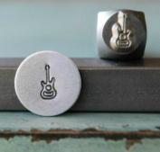 7mm Guitar Musical Instrument Metal Punch Design Jewellery Stamp