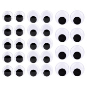 Sunmns Giant Wiggle Eyes with Self Adhesive, 40mm, 50mm and 60mm, 28 Pieces