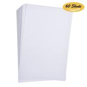 Hotop Watercolour Paper Bulk Pack, 44kg 230 gsm, Cold Press Ready Cut 15cm by 23cm , 60 Sheets