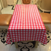 HUELE 10pcs/set Disposable Waterproof Plaid tablecloth One-time for Picnic Wedding Party Table Covers