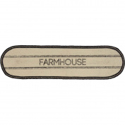 VHC Brands Sawyer Mill Farmhouse Jute Runner, 33cm x 120cm