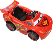 Disney Cars Kids 6v Lightning Mcqueen 14kg 3 Ride On Car 115 X 63.5 X 52cm