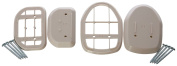 Dreambaby Grey Spacers - For White Retractable Gate.