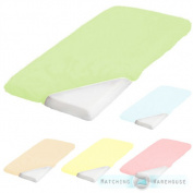 Pure Cotton Baby Cot Size 60 X 120cm Fitted Sheet Nursery Crib Bedding Childrens
