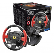 Thrustmaster T150 Ferrari Force Feedback Wheel Ps4 Ps3 Pc -