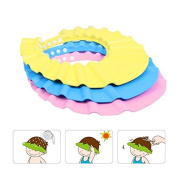 Cheap & Perfect Toddler Children Baby Kids Safe Waterproof Shampoo Shower Bath Protection Soft Cap Hat