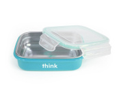 thinkbaby BPA Free The Bento Box, Light Blue