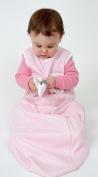 Bitta Kidda Baby Soother Sleeping Bag Wearable Blanket + Lovey - Pink Stripe 18M