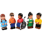 Constructive Playthings Easy Grip Friends with Diverse Abilities Set of 5